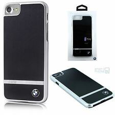 "BMW Aluminium Back Cover iPhone 7 4,7"" Schutz Hülle Hard Case Tasche Handy black"