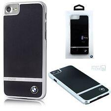 "Bmw aluminio back cover iPhone 7 4,7"" funda protectora Hard Case bolso celular Black"