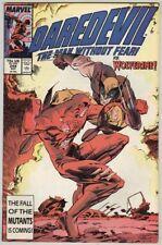 Daredevil #249 December 1987 VG/FN Wolverine