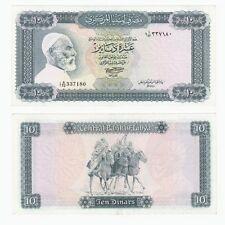Libia 1972 - 10 Dinari BANCONOTA-pag. 37 ter
