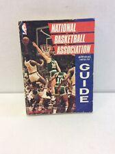 1973-1974 NATIONAL BASKETBALL ASSOCIATION OFFICIAL GUIDE SPORTING NEWS