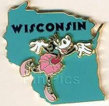 Disney State Character Wisconsin Clarabelle Pin