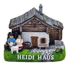Heidi & Peter Maison Berge Poly Prêt Modèle, Souvenir Suisse Suisse