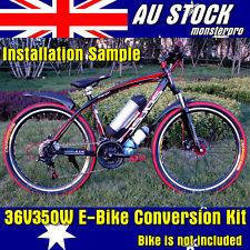 "Electric Bicycle Bike Conversion Kit 36V 350W 26"" Rear Wheel Motorised Push Bike"
