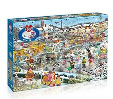 GIBSONS I LOVE WINTER 1000 PIECE HUMOUROUS MIKE JUPP JIGSAW PUZZLE