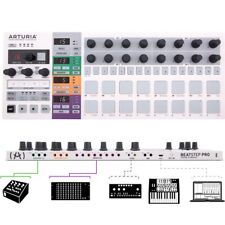 ARTURIA BEATSTEP PRO controller midi usb cv/gate din sync 2 sequencer monofonici