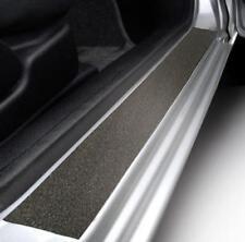 Puerta de satén negro con textura Alféizar Paso protectores de guardia se ajusta Volvo/Saab (01)