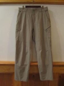 Mens SIMMS Fishing Lightweight Trail Boat Hiking Pants GRAY L 37254 35Wx32L