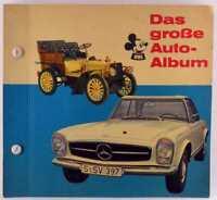 Das große Auto-Album v. Micky Maus, Ehapa 1964, komplett mit allen Bildern