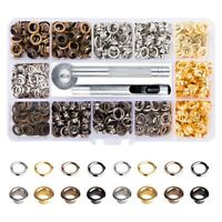 Grommets Kit 3/16Inch 400Pcs Eyelets Kits Eyelets Grommet Sets for Shoes C M9Q0
