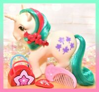 ❤️My Little Pony MLP G1 Vtg Gusty Unicorn Movie Star EURO UK Comb Nirvana❤️