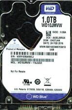 WD10JMVW-11AJGS3,  EHOTJHK  USB 3.0   WESTERN DIGITAL SATA 1TB  WXR1
