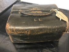 Antique Victorian/Edwardian Doctors / Chemists Bag/Case.finnigans Bond Street