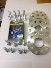 Audi TT Hubcentric 15mm & 20mm wheel spacers & Extended Bolts & Locking Bolts R
