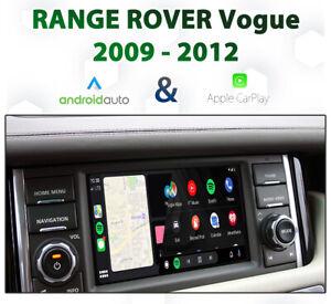 Range Rover L320 Vogue 2009-2012 Apple CarPlay & Android Auto Integration