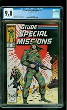G.I. Joe Special Missions 13 CGC 9.8 NM/MINT Dusty Outback Lightfoot Mangler