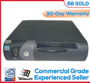 Vintage Dell Windows 98 SE DOS Computer Win98 Win98SE Parallel Serial Port Win98