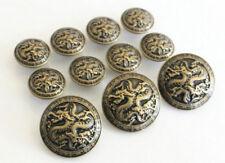 5Pcs Bronze Metal Blazer Chinese Dragon For Blazer Suits SpSport Coat Buttons