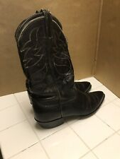 Vintage Tony Lama Leather Men's Cowboy Western Boots 10 9.5