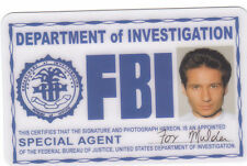 Special Agent Fox Mulder of the Xfiles novelty collectors card Drivers License