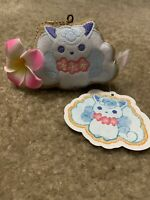 Pokemon Center Original TROPICAL SWEETS Mascot w/Charm Icing Cookie AlolaVulpix