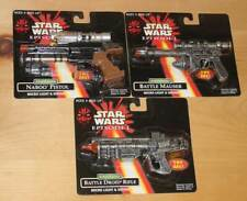 STAR WARS ELECTRONIC MICRO BATTLE DROID RIFLE NABOO PISTOL OR MAUSER YOUR CHOICE