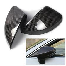 1 Pair Carbon Fiber Door Wing Mirror Cover Casing Caps Fit for Audi A3 S3 RS3