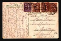 Germany 1922 Inflation Postcard / Crease - Z17189