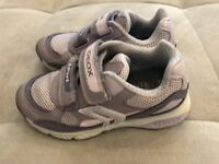 Girls Geox Sport Athletic Sneakers Shoes Size 10 Worn Once