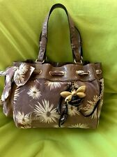 Juicy Couture Light Brown Flower Bee Daydreamer Purse Bag Shopaholic