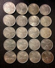 Vintage Norway Coin Lot - 25 ORE - ANIMAL SERIES - 20 Uncommon Coins - Lot #J16