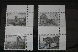 Usbekistan 145-148 ** postfrisch Leopard #WR595