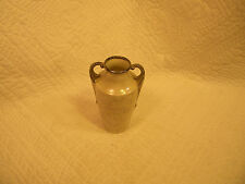 Vintage Czecho-Slovakia Bud Vase White Pearl Lustre with silver highlights