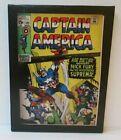"Artissimo Marvel CAPTAIN AMERICA #123 Comic Cover 6.5"" X 8.5"" Canvas Wall Art"