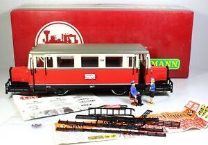 """Spur G LGB 2266 Schienenbus T41 """"Schweineschnäutzchen"""" DEV OVP"""