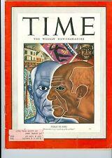 Time Magazine  PABLO  PICASSO  JUNE 26 1950