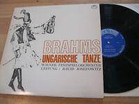 LP Brahms Ungarische Tänze David Josefowitz Vinyl M-2279 MMS