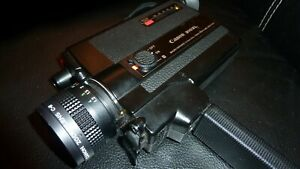 Tested & Working Vintage Camera  Canon 310XL Super 8 Black  Exellent condition