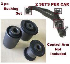 3pcSet Bushings Volkswagen Touareg 04-08 & Audi Q7 07-09 Front Lower Control Arm