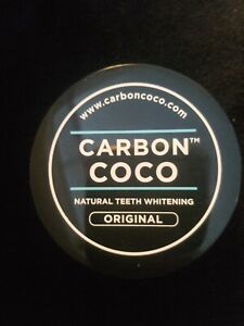 Carbon Coco Natural Teeth Whitening Original - Opened never used