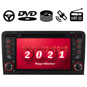 Car radio Stereo CD DVD GPS Sat Nav SWC for Audi A3 S3 RS3 8V 8P 8PA DAB+ BOSE