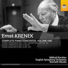 Krenek: Complete Piano Concertos 1 [New CD]