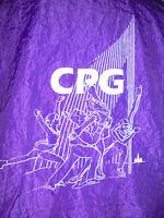 vintage 80s NEW TILT Sportswear Nylon Jacke CPG glanz Sportjacke oldschool L