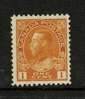 Canada SC# 105 Mint Hinged / Small Hinge Rem - S5473