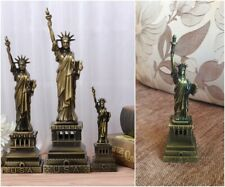 Statue of Liberty Figurine Christmas Gift New York Sculpture Bronze Home Decor