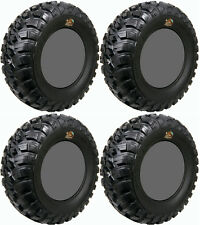 Four 4 GBC Kanati Mongrel ATV Tires Set 2 Front 27x9-14 & 2 Rear 27x11-14
