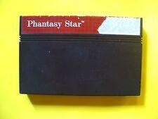 Phantasy Star (Sega Master, 1987)