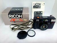 Ricoh AF-5 Point & Shoot 35mm Film Camera w/ f2.8 Lens, Built-in Flash, Tested