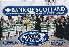 Neil LENNON Signed Autograph 12x8 Photo AFTAL COA Celtic League Winning Captain