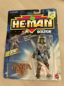 He-Man New Adventures Disks of Doom Skeletor 1990 New - MOTU - Mattel